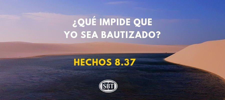 ¿Qué impide que yo sea bautizado?
