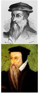 Robert Estienne y Teodoro de Beza