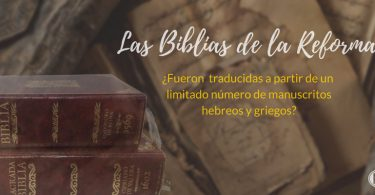 Biblias de la reforma